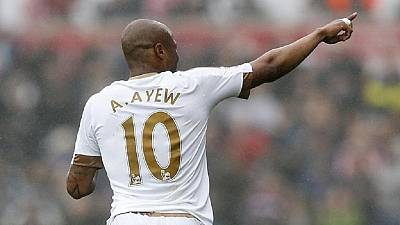 West Ham makes over $26m bid for Swansea and Ghana's Andre Ayew