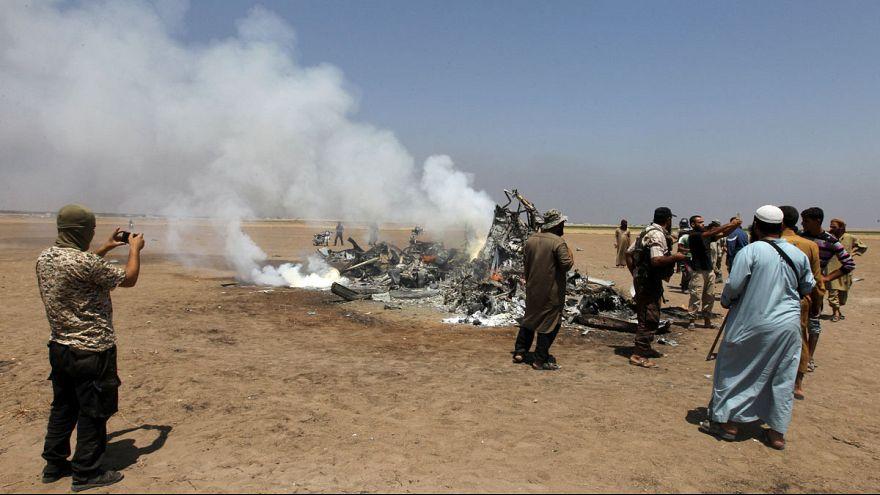 Российский вертолёт сбит в Сирии