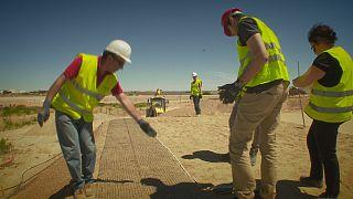 Des routes truffées de capteurs à fibre optique pour prévenir les effondrements