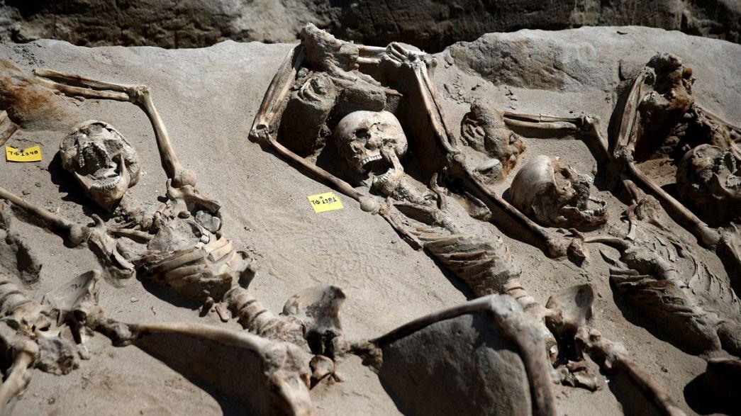 Греция: найдены скелеты участников древнего путча