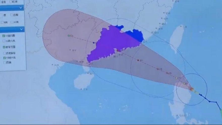 Tufão Nida deixa Macau em alerta