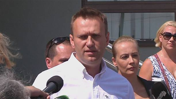 Russian opposition figure Navalny spared time behind bars
