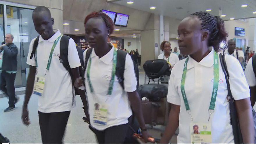 Сборная беженцев готова к соревнованиям в Рио-де-Жанейро