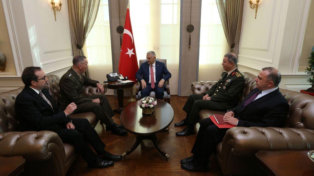 ABD Genel Kurmay Başkanı Dunford Türkiye'de
