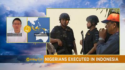 Executed Nigerians in Indonesia [The Morning Call]