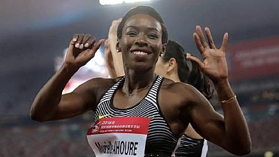 Murielle Ahouré choisie comme porte-drapeau ivoirien pour Rio 2016
