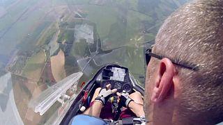 آکروجت با هواپیماهای بی موتور در مجارستان
