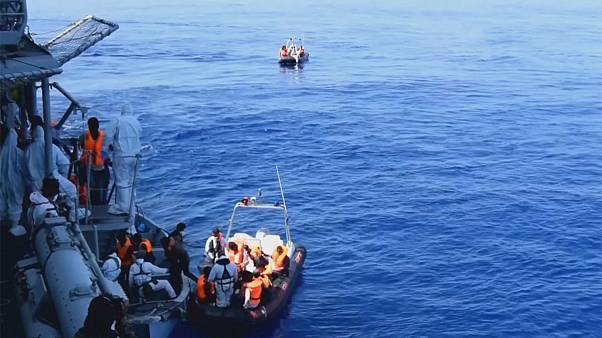 Migrants in the Med: 'Over 8,000' rescued in five days
