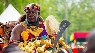 Royalty meets politics and literature as Ghana's Ashanti King speaks in UK