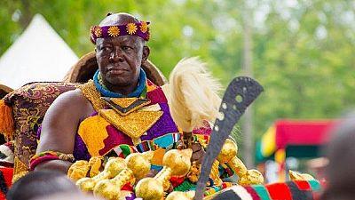 Royalty meets politics and literature as Ghana's Ashanti King speaks in UK