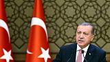 الرئيس أردوغان يتهم الغرب بمساندة الارهاب و الانقلابيين
