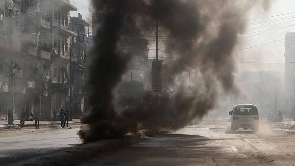 Syria: Anti-ISIL forces gain ground as Assad is blamed for 'gas attack'