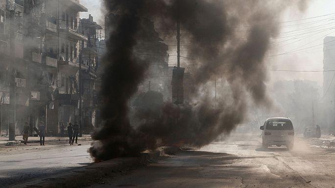 Сирия: экстремистов выдавливают из Манбиджа