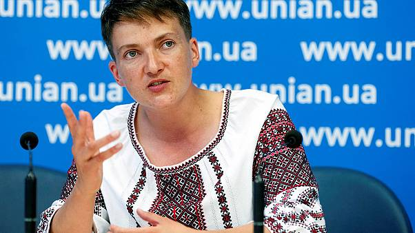 """La """"heroína"""" ucraniana Nadia Sávchenko se declara de nuevo en huelga de hambre"""