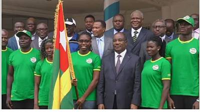 Togolese athletes eye personal records in Rio