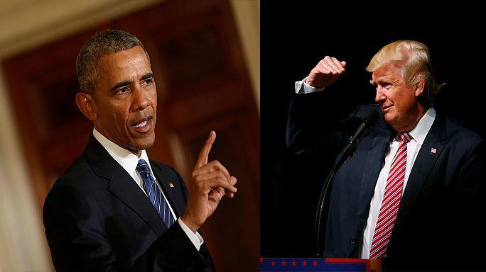Nach Aufregung um Trump-Äußerungen: Obama wird deutlich