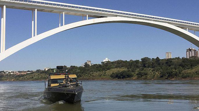 Brezilya'da sıkı sınır güvenliği
