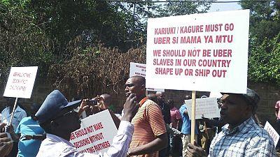 Kenya: des centaines de chauffeurs de taxi Uber en grève, après une baisse des prix des transports