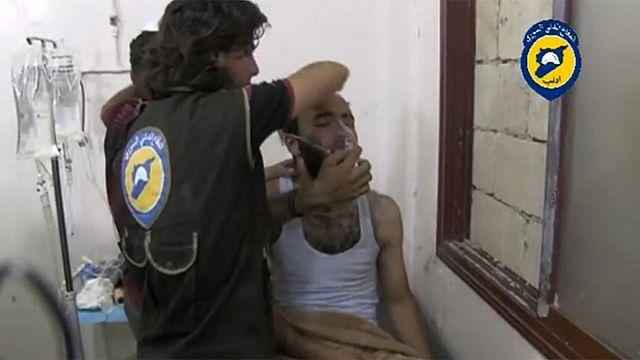 Állítólag gáztámadás történt egy szíriai településen