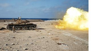 Libya troops battle for control of Sirte