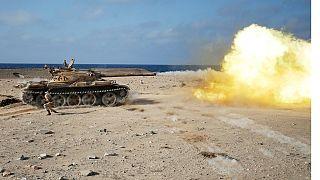 Libya troops battle for control of Sirte