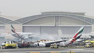 [Updates] Emirates flight catches fire at Dubai airport, all on board evacuated