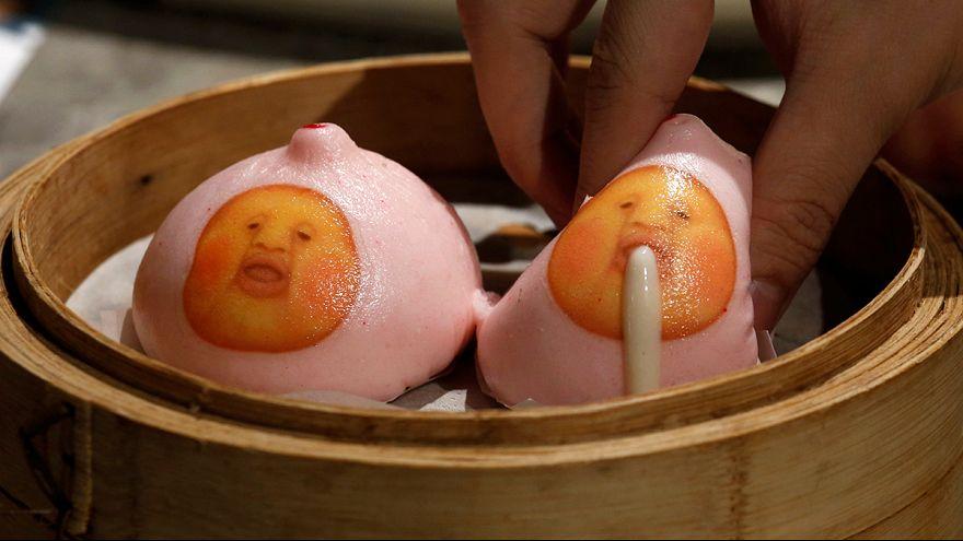 Hong Kong: un restaurante con manga-platos