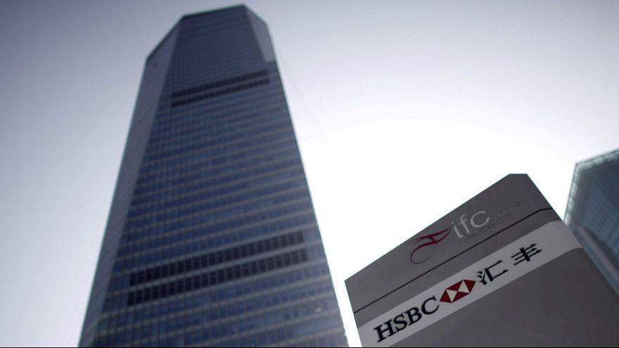 HSBC: Lucros semestrais em queda