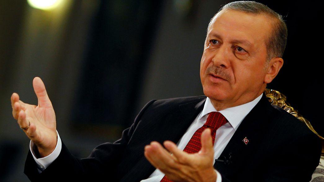 Erdoğan: Zamanında görememişiz bizi affedin