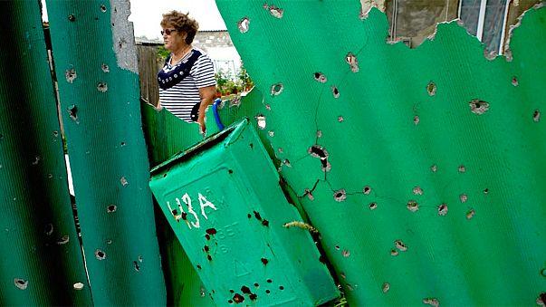 Kelet-Ukrajna - újjáépítés aknatűzben