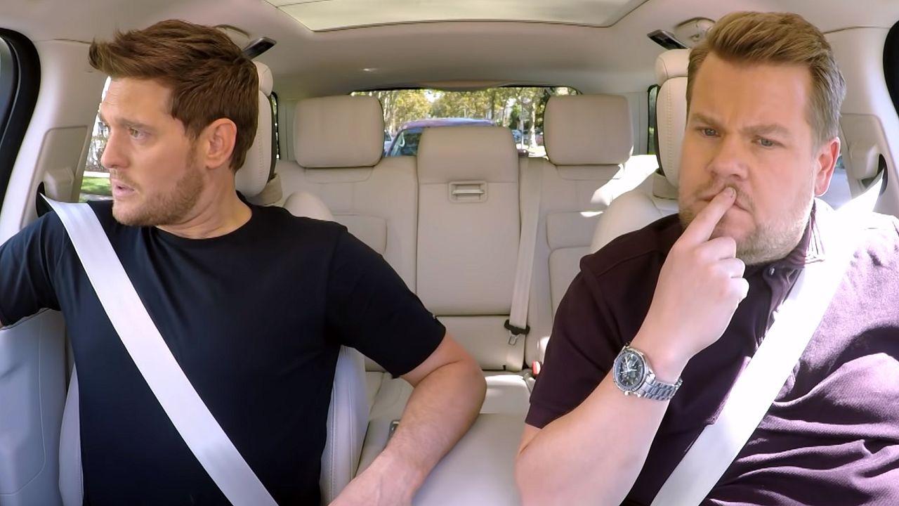 Michael buble James Corden Carpool karaoke