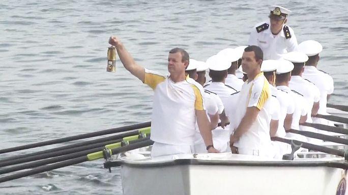 Rio 2016: la fiaccola olimpica è arrivata in città