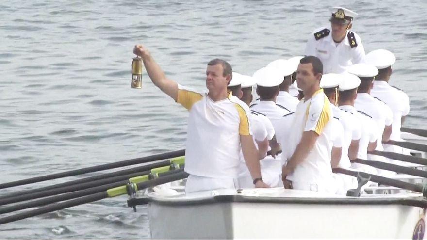 Chama Olímpica chega ao Rio de Janeiro