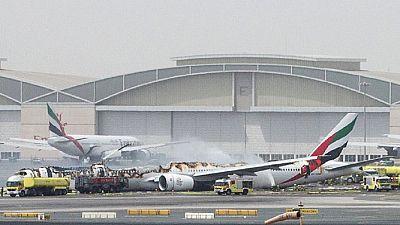 Dubaï : vidéo effroyable d'un Boeing 777 qui s'écrase à l'atterrissage