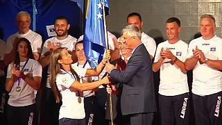 Kosovo's first Olympic team is ready for Rio