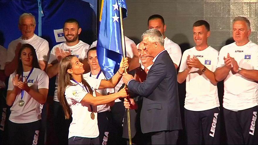 ريو 2016: أول مشاركة لرياضيي كوسوفو في الألعاب الأولمبية تحت علم بلادهم