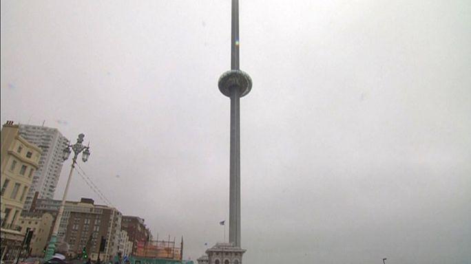 بريطانيا:كبسولة شفافة في برج مستقبلي يقلب شكل مدينة برينتون