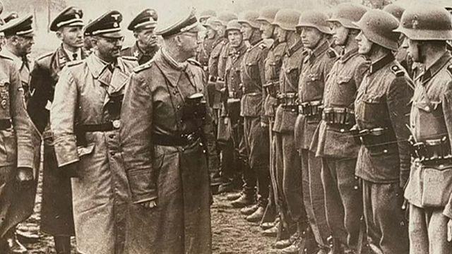 Nazi SS lideri Heinrich Himmler'in anı defterleri ortaya çıktı