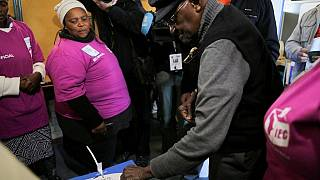South Africa: Vote counting underway, results trickle in