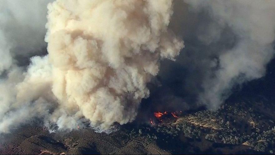 Incendi in California: due grandi fronti attivi