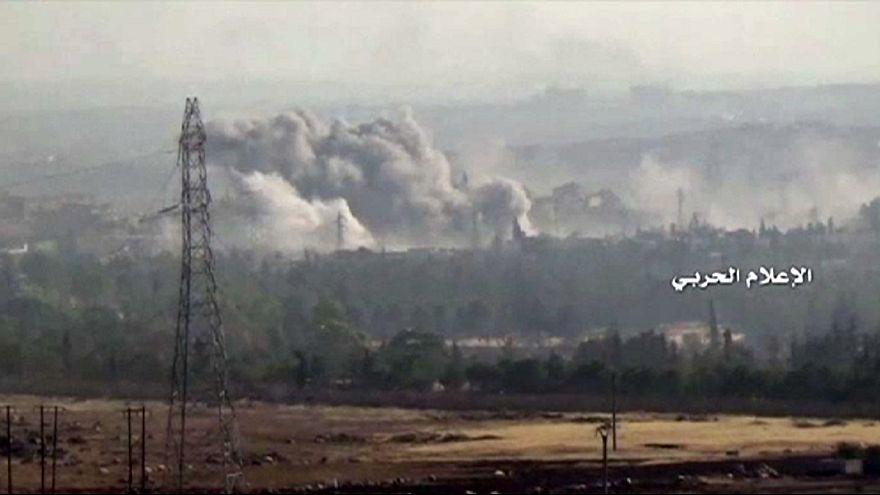 Syria: Fighting intensifies around Aleppo