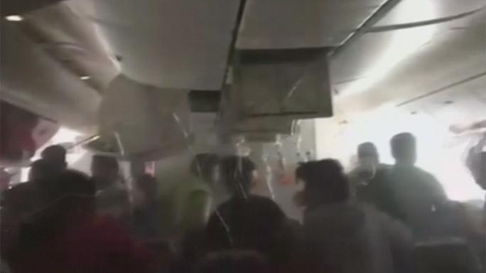 'Jump! Jump! Jump! Leave your bags behind!' - Chaos inside crashed Dubai plane