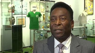 Brazilian soccer legend Pele unsure of Rio participation
