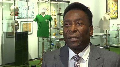 Brazilian soccer legend Pele unsure of Rio participation