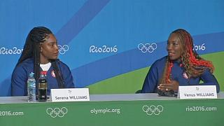 Tennis sensations Venus and Serena Williams ready for Olympics