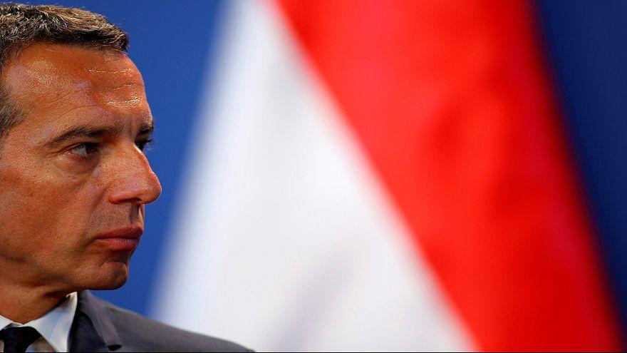 """Avusturya Başbakanı Kern: """"AB-Türkiye üyelik müzakereleri durdurulsun"""""""