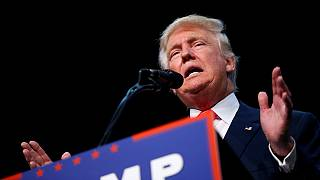 Trump lashes out as rivals rally