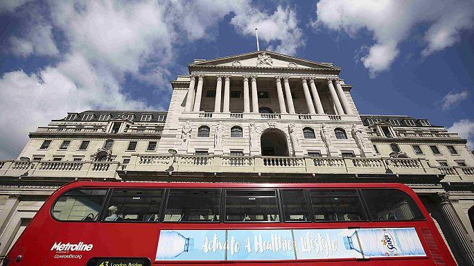 Решение Банка Англии рынки встретили с оптимизмом, но фунт рухнул