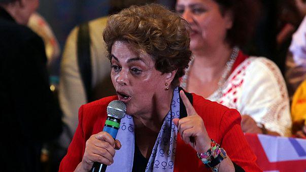 La comisión del Senado brasileño pone a Rousseff al borde del precicipio