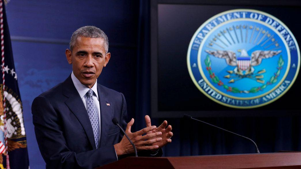 """Obama: """"Rehineler için fidye ödemiyoruz"""""""